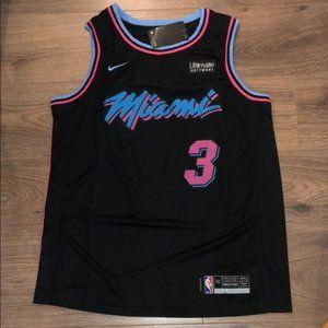 NEW DWYANE WADE MIAMI HEAT NBA #3 JERSEY